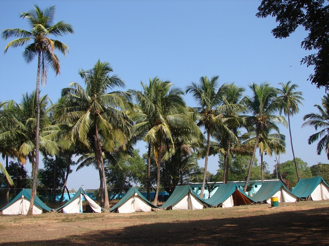 camping destinations in India - Goa