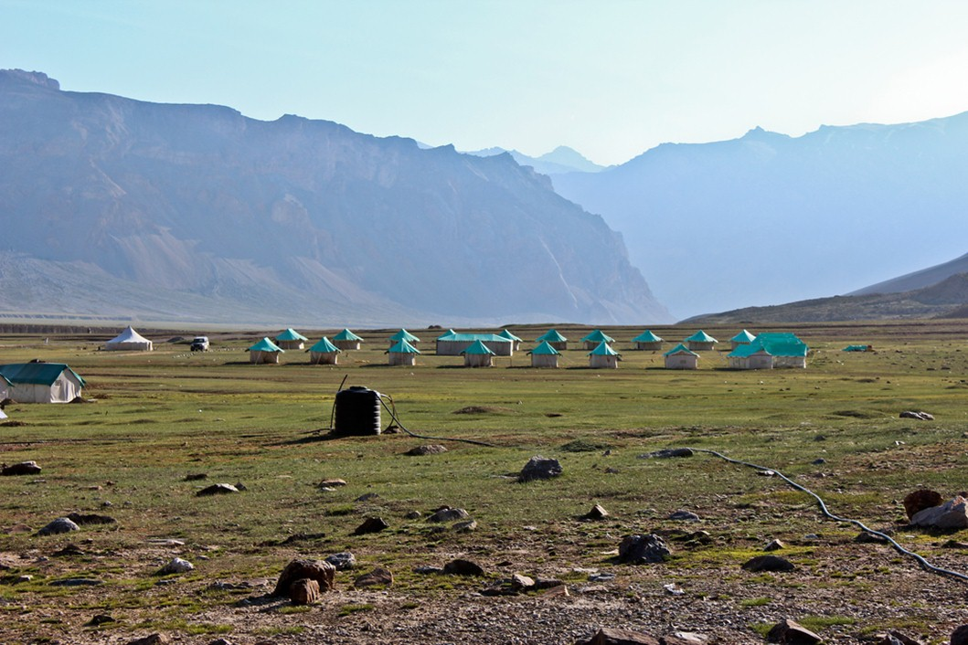 Sarchu campsites