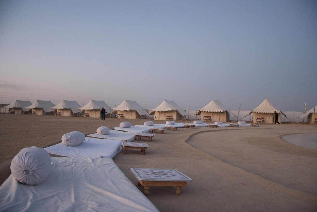 camping destinations in india - jaisalmer