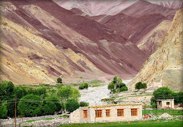 Manali to Leh Route