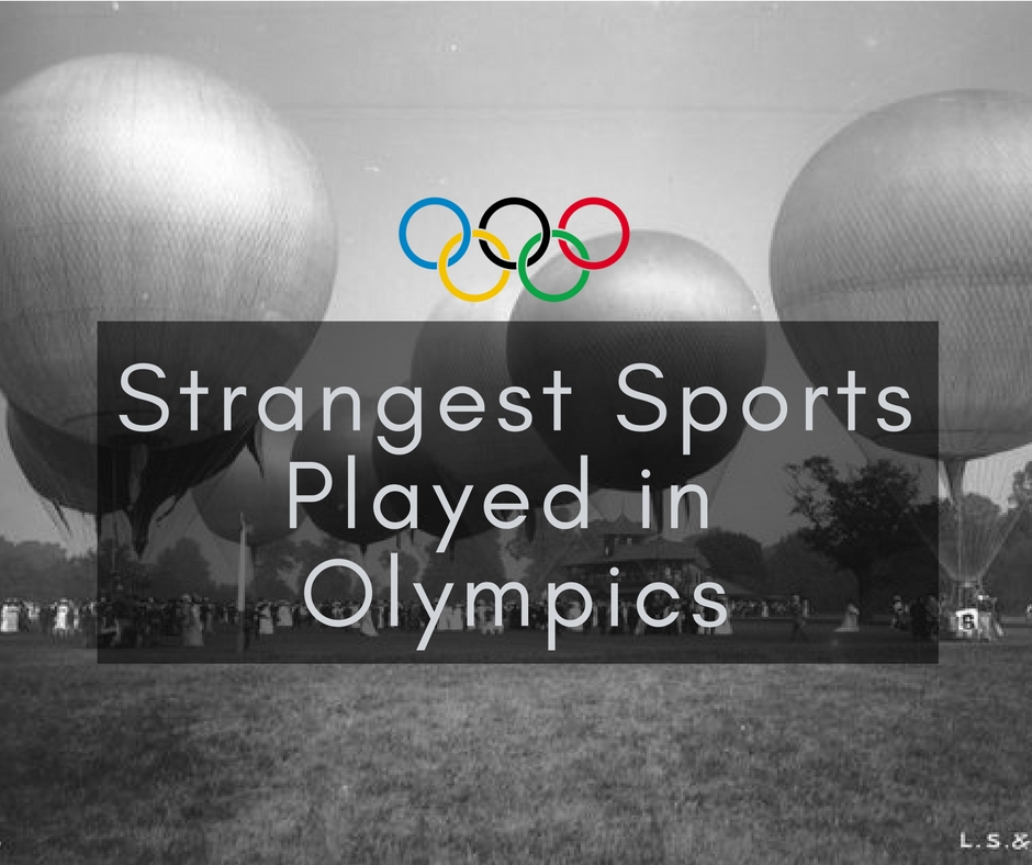 Strangest sports played in olympics