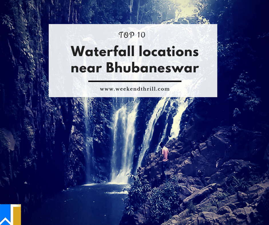 Waterfall locations near Bhubaneswar-